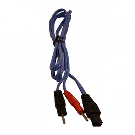 Cable 6P pour connexion électrodes àfil Compex