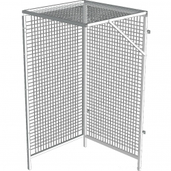 Cage Praxeo Cage d'angle - 3 panneaux