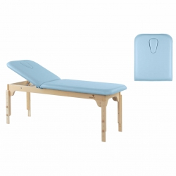 Table de massage Fixe Ecopostural 2 plans 2 Sections C3120