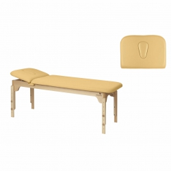 Table de massage Fixe Ecopostural 2 plans 2 Sections C3135