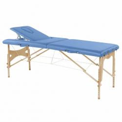 Table de massage pliante Ecopostural Hauteur réglable Avec Tendeurs C3209