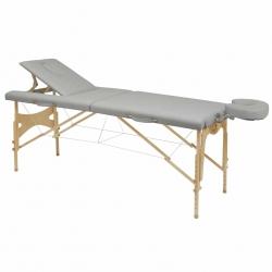 Table de massage pliante Ecopostural Hauteur réglable Avec Tendeurs C3210