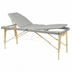 Table de massage pliante Ecopostural Hauteur réglable Avec Tendeurs C3213