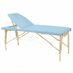 Table de massage pliante Ecopostural Hauteur réglable Avec Tendeurs C3214