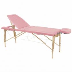 Table de massage pliante Ecopostural Hauteur réglable Avec Tendeurs C3216