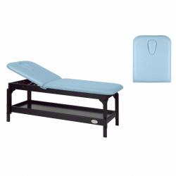 Table de massage Fixe Ecopostural 2 plans 2 Sections C3230W