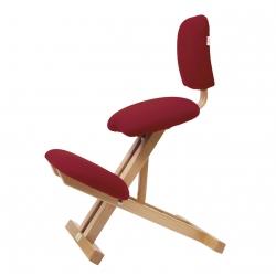 Chaise ergonomique Ecopostural Repliable Bois Hêtre S2105