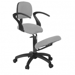 Chaise de bureau ergonomique Ecopostural Appui-genoux fixe S2603