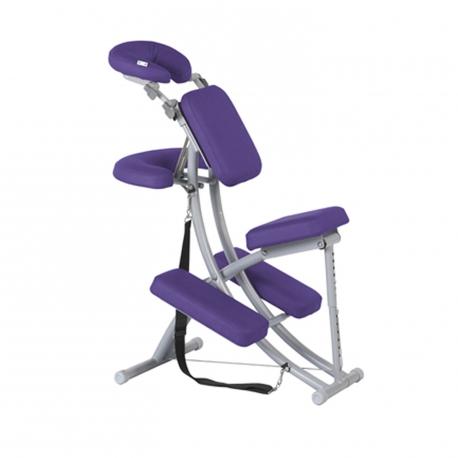 Chaise de massage Ecopostural Multifonction Aluminium Gris T2701