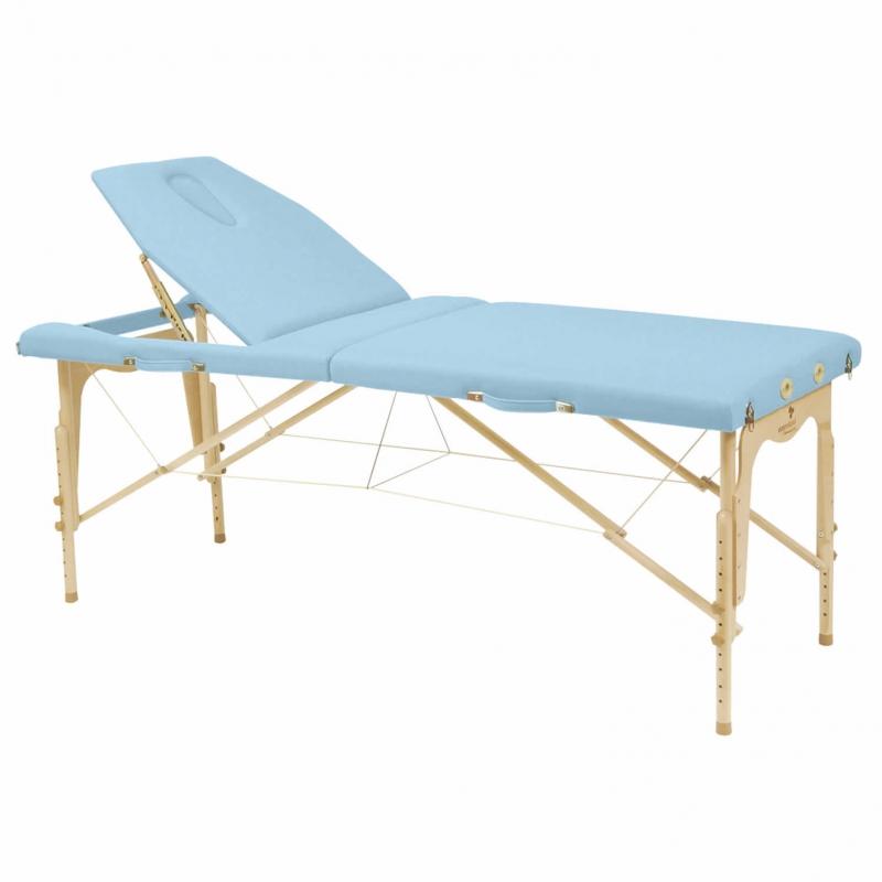 Table de massage pliante ecopostural c3214 hauteur r glable - Table de kine pliante ...
