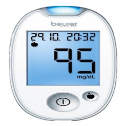 Lecteur de glycémie Beurer GL 44 mg / dl    blanc