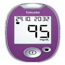 Lecteur de glycémie Beurer GL 44 mg / dl    violet