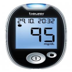 Lecteur de glycémie Beurer GL 44 mg / dl    noir