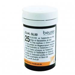 Accessoire glycémie Beurer Bandes de test pour GL 44 / GL 50 (2x25)
