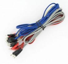 Jeu de cables pour Compex 2, Micro+, Micro, Sport-P