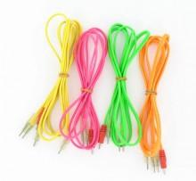 Cable fluo pour électrodes àfil Compex