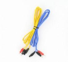 Lot de 2 cables pour Duofit Compex