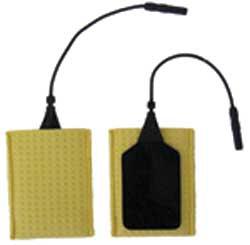 Electrodes semi-rigides