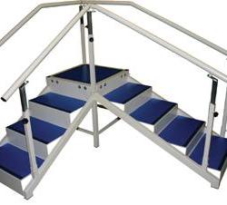 Escalier angle droit Socopedic