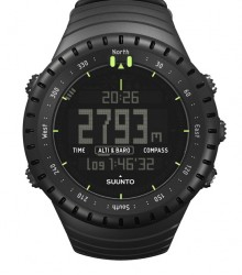 Montre Cardiofréquencemètre Core All Black Suunto