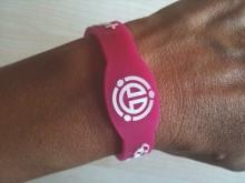 Bracelet energétique Energy Booster 24H rose Enerme