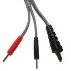 Cable bipolaire générique pour électrostimulateurs Cefar Compex