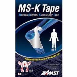 Bande Taping Zamst MS-K Tape Pied Pré-découpée