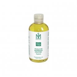 Huile de massage neutre végétale Bio Medicafarm